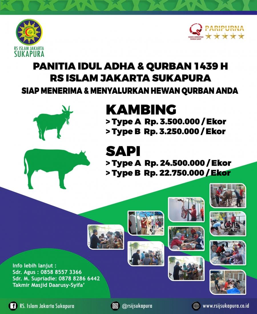 RSIJ Sukapura Panitia Idul Adha & Qurban 1439 H RS Islam
